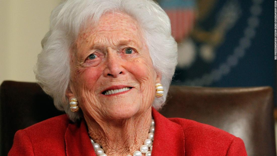 Barbara Bush no longer considered herself a Republican after Trump became President, book says